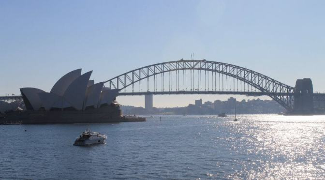 Taidovierailulla Australiassa