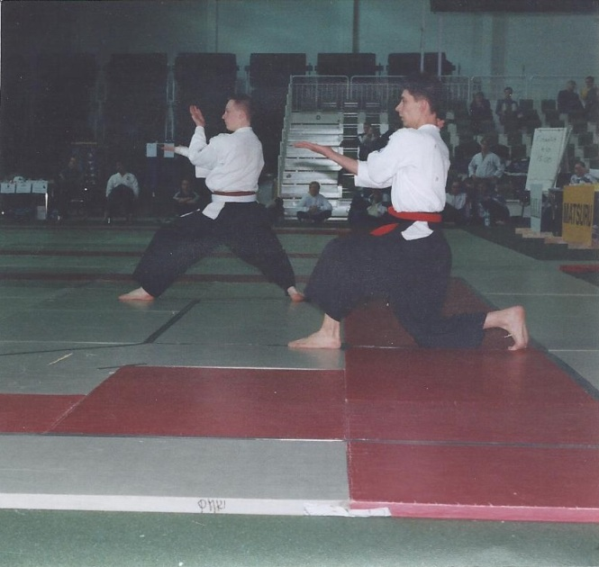 SM-pronssitaisto vuonna 2000. Matias Soininen vs. Kari Hakuli