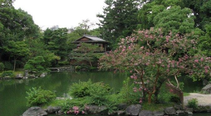 Japanilainen puutarha osa 1