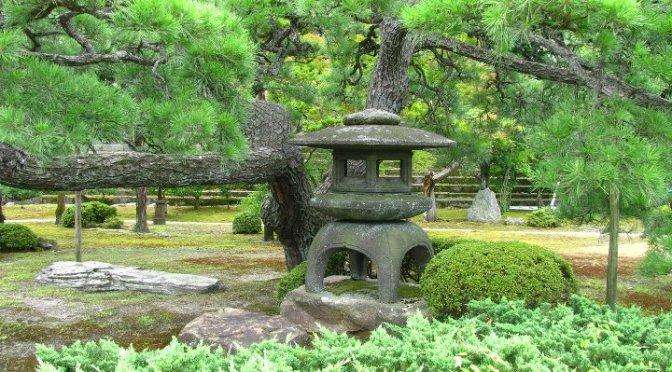 Japanilainen puutarha Osa 4. Seinät ja koristeet