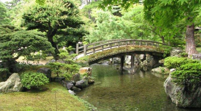 Japanilainen puutarha osa 3. Elementit