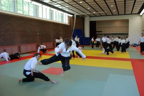Tenkain osalta keskityttiin etenkin väistämiseen ja kombinaatioiden kautta haettiin jatkuvuutta liikkeelle.