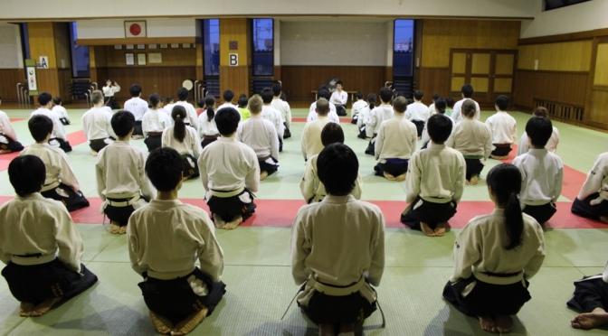Yliopiston Taido Japanissa 2015 Osa 3:Treenit Korenkan-dojolla Nakano-sensein kanssa