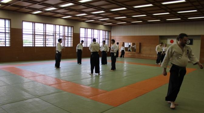 Yliopiston Taido Japanissa 2015 Osa 4: Aamupäivän treenit Arakawa-dojolla